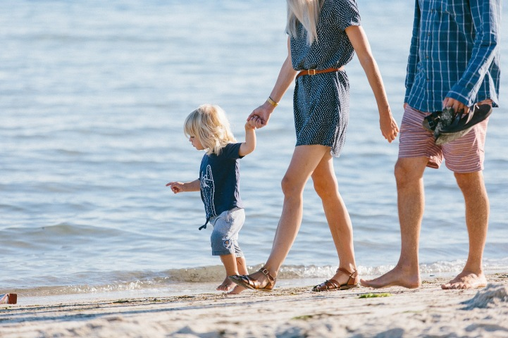 family beach session
